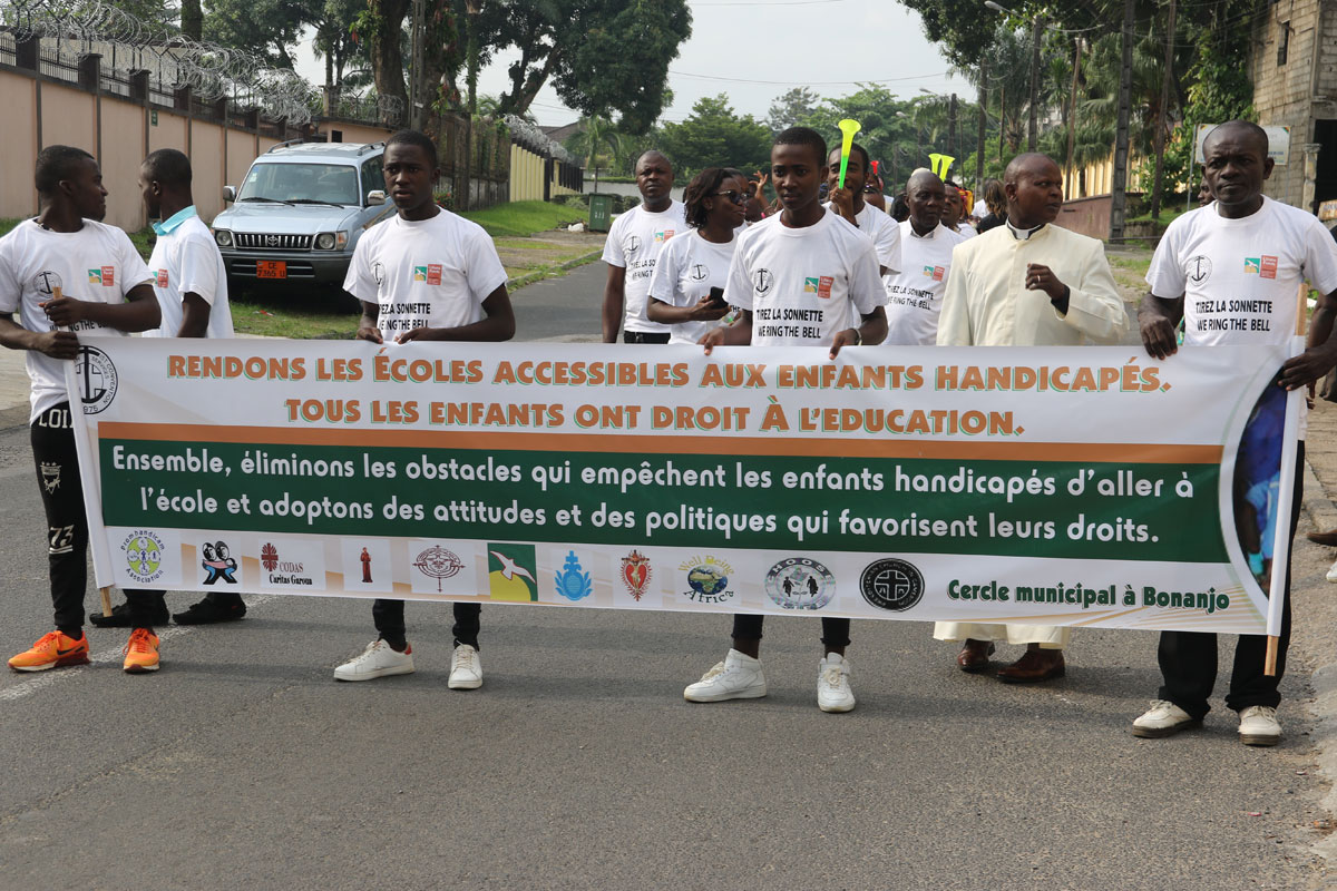 Mobilizing to advocate for the rights of persons with disabilities during  WRTB campaign